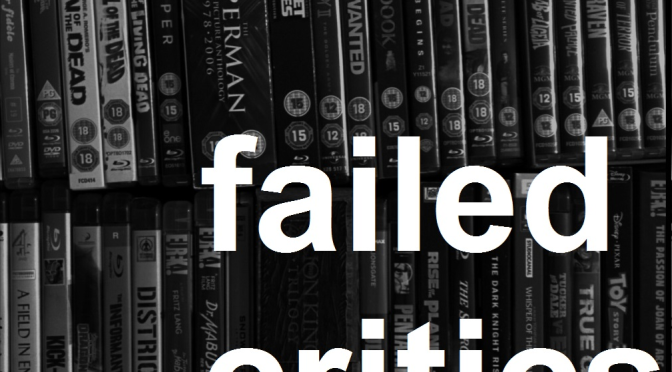 Failed Critics Podcast: An Advert!