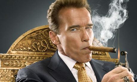 Arnold Schwarzenegger Cigar