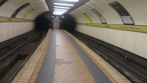 Glasgow Subway System - open at normal times today, not that's you'd know