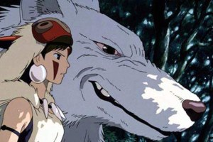 Princess Mononoke, one of the films showing in Film 4's Studio Ghibli season