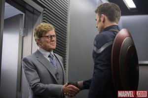 Robert Redford in Captain America: The Winter Soldier