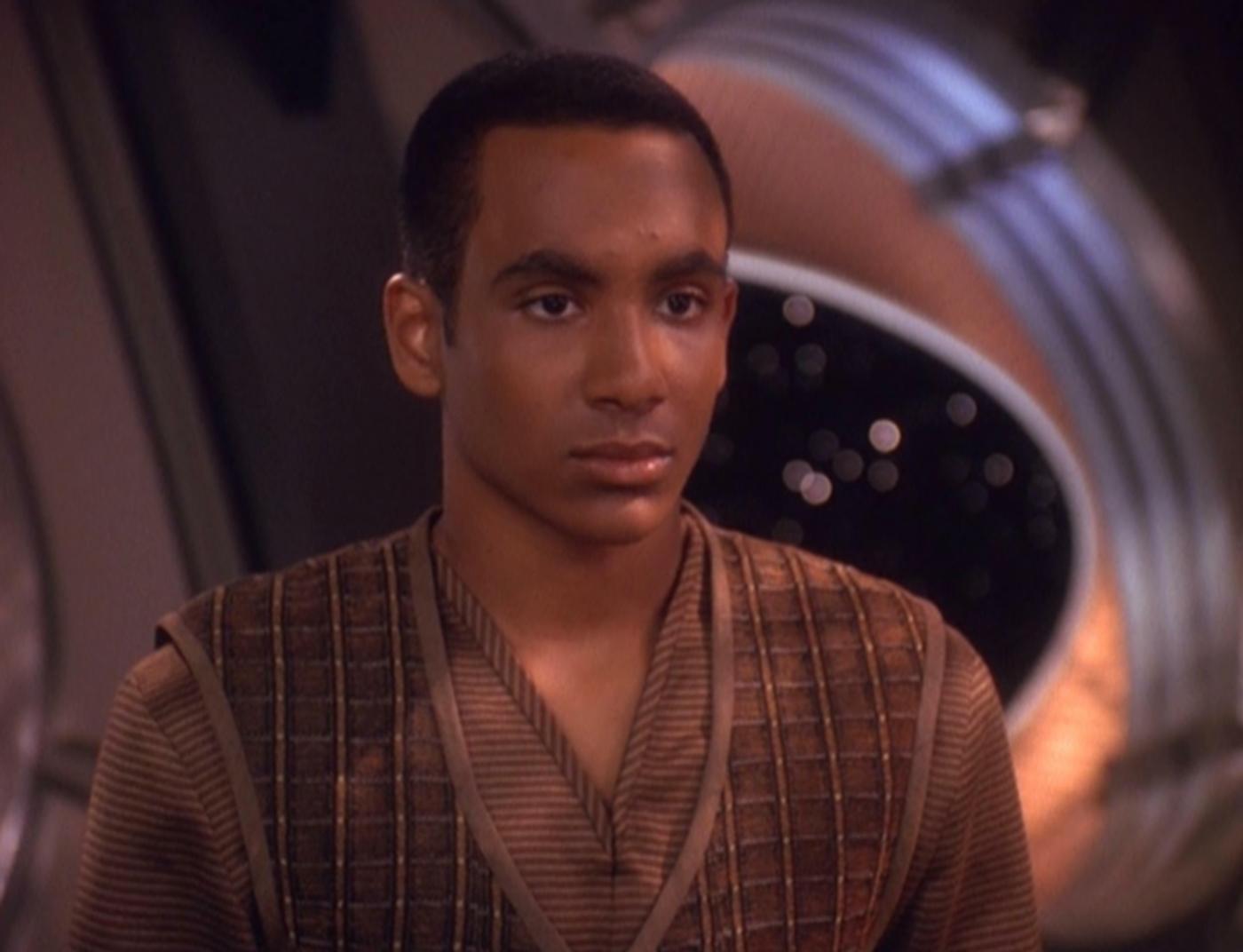 Cirroc Lofton plays Jake Sisko in Deep Space Nine