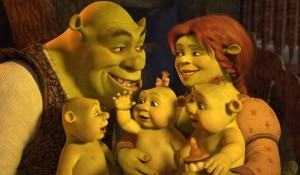 shrek forever after family