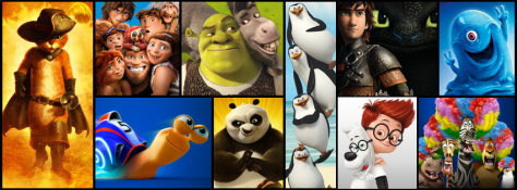 dreamworks collage