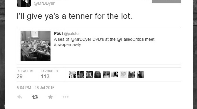 Owen's 2015 in Film: Part 7 – July Meets and Danny Dyer Tweets
