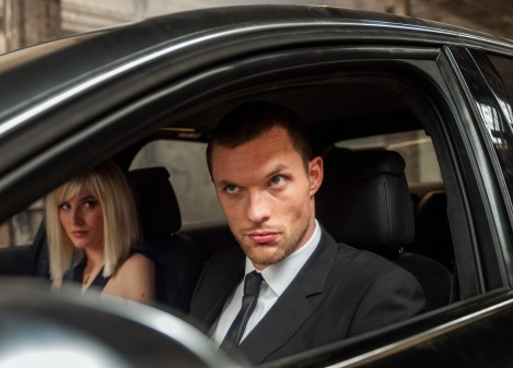 """M112  Ed Skrein (right.) and Loan Chabanol star in  EuropaCorp's  """"The Transporter Refueled"""". credit: Bruno Calvo  © 2014 – EUROPACORP – TF1 FILMS PRODUCTION"""