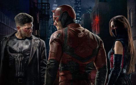 Punisher Daredevil Elektra