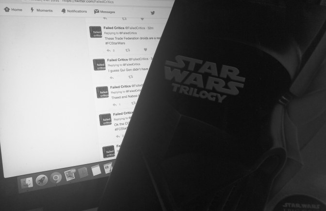 Star Wars: Live Tweet-a-thon